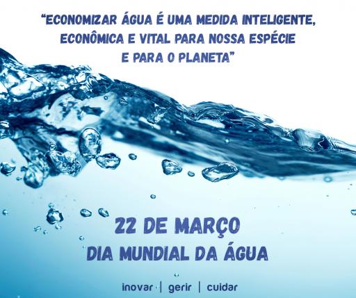 """Imagem ilustrativa para o post """"Dia Mundial da Água"""""""