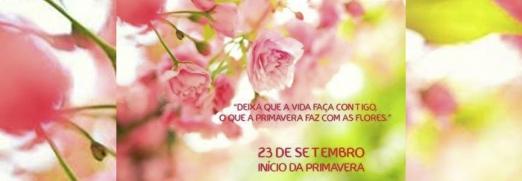 "Imagem ilustrativa para o post ""Bem-vinda, Primavera! """